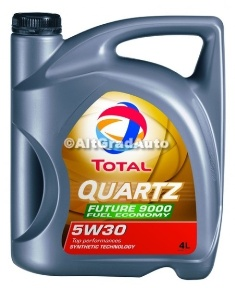 Ulei Total Quartz 9000 FUTURE 5W30 Fuel Economy