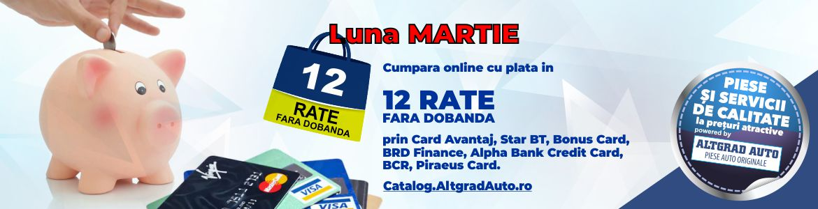 Piese auto Ford 12 rate plata online